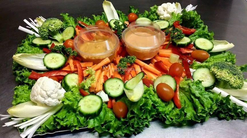 Croque légumes