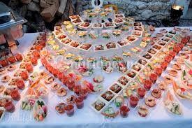 Présentation de buffet