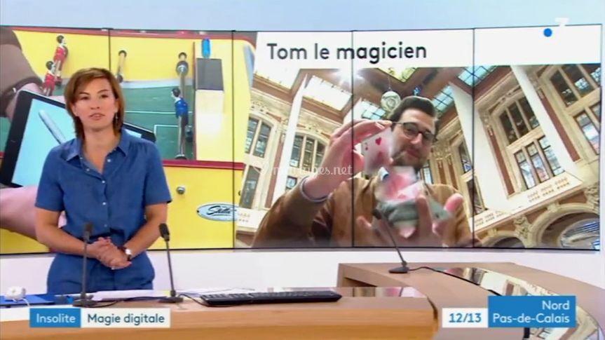 Magicien sur France 3