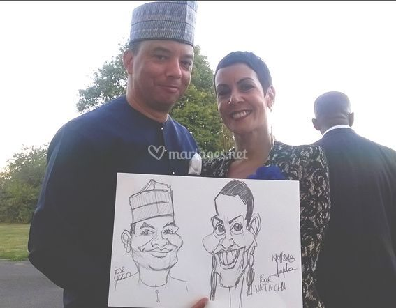 Séance de caricatures 09/2018