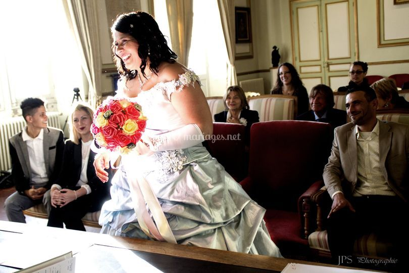Reportage mariage mairie