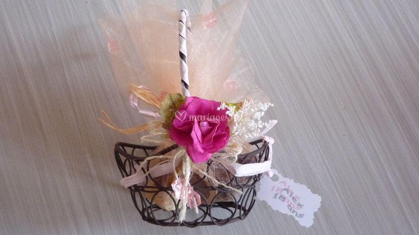 Souvenir d'invités pour un anniversaire