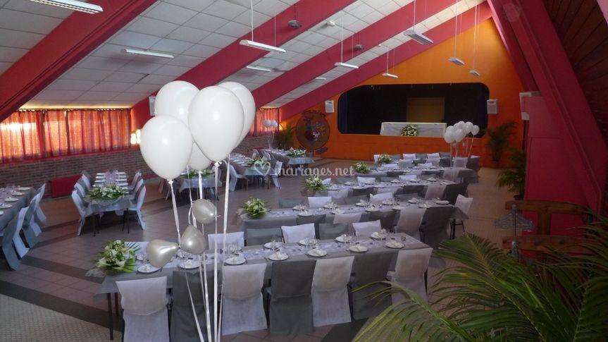 Salle de mariage Après !!