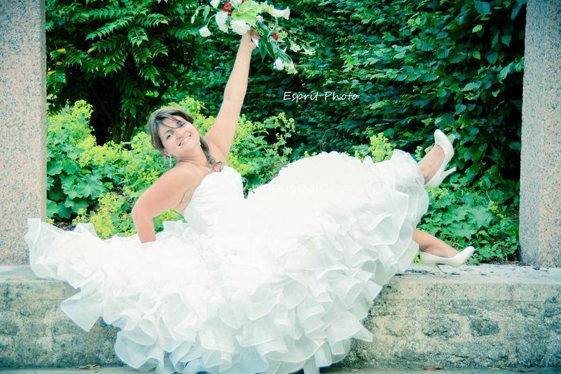 Shoot mariée