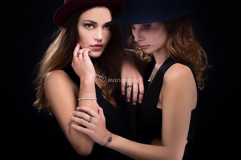 Modèle Louise et  Céline