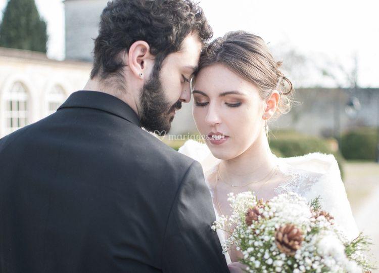 Mariage hivernale - remakeup'