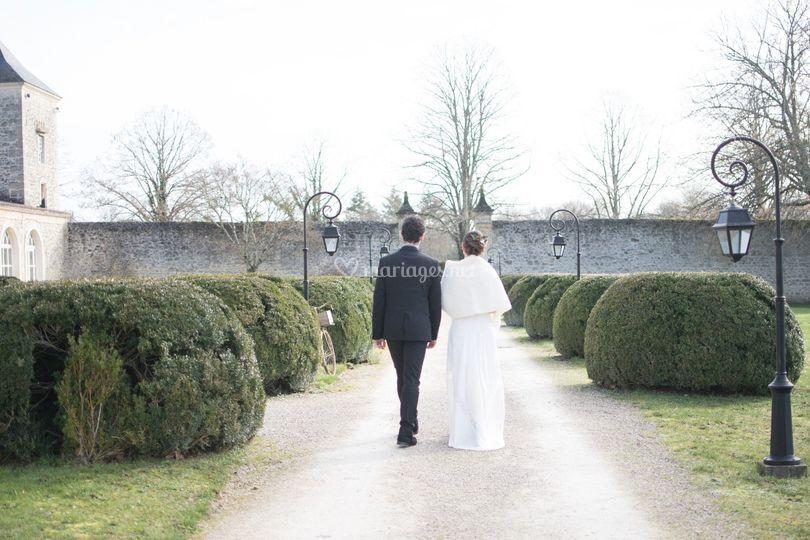 Mariage hivernal - remakeup'