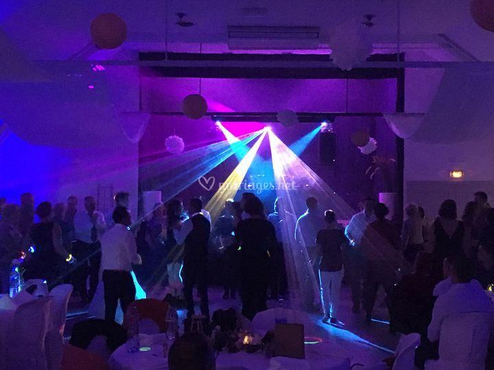 Lumières dance floor
