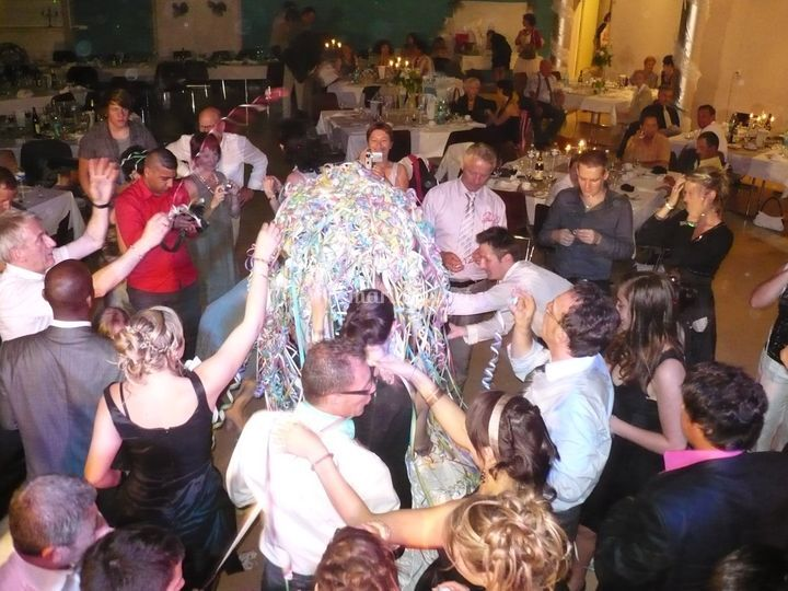 Ombrelle des mariés