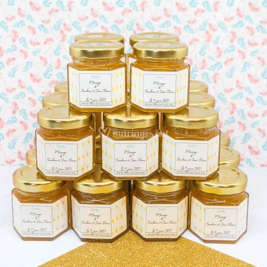 Pot de miel Etoiles