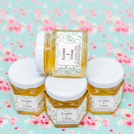 Du miel pour les invités