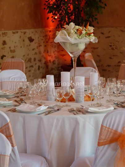 Centre De Table Avec Fleurs Fraiches De Nova Event Photo 12