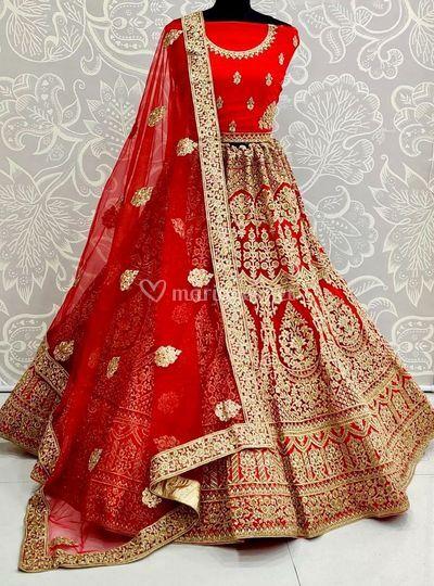 Lehenga choli mariage