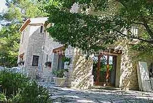 Terrasse en pierres