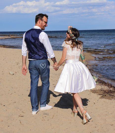 Mariés plage