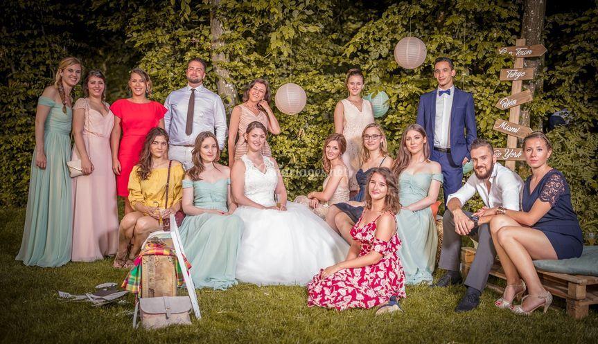 Famille mariés