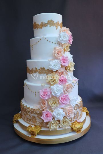 Wedding Cake by Crazy Cake
