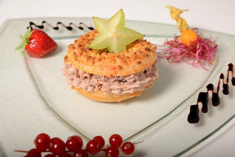 Saint Honoré foie gras maison