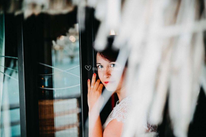 Mariée portrait