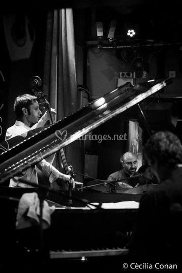 Ambiance piano bar en trio