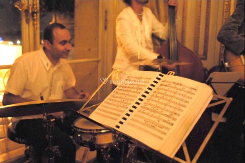 Orchestre jazz au Crillon