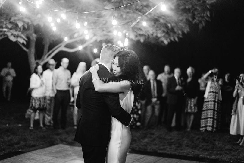 Danse lors du bal mariage