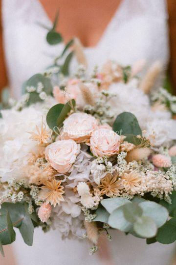 Magnifiquebouquet de la mariée