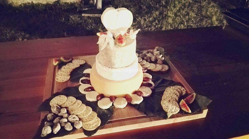 pyramide de fromages sur lagrangette traiteur - Traiteur Agen Mariage