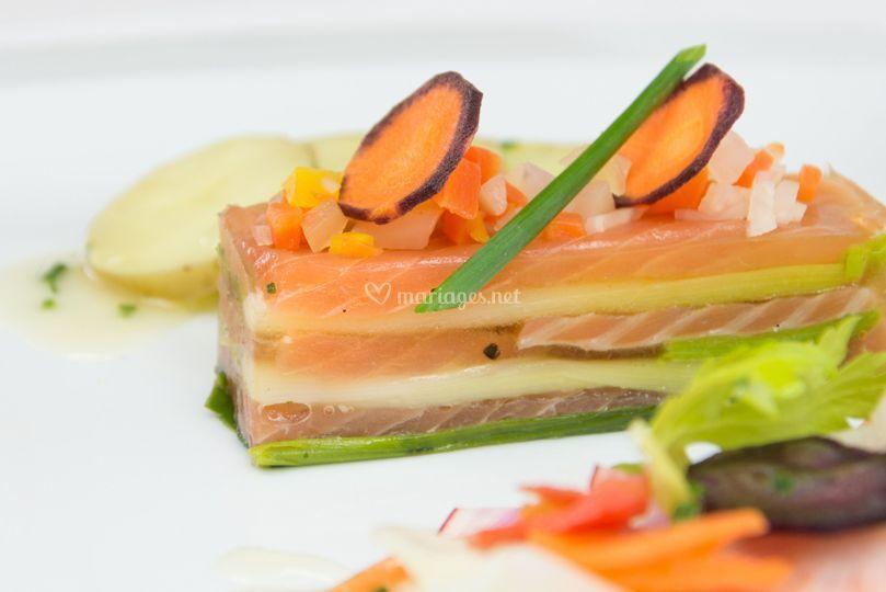 Marbré de saumon