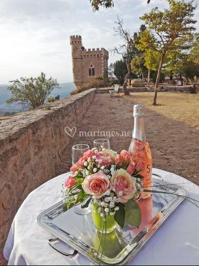 Demande en mariage romantique