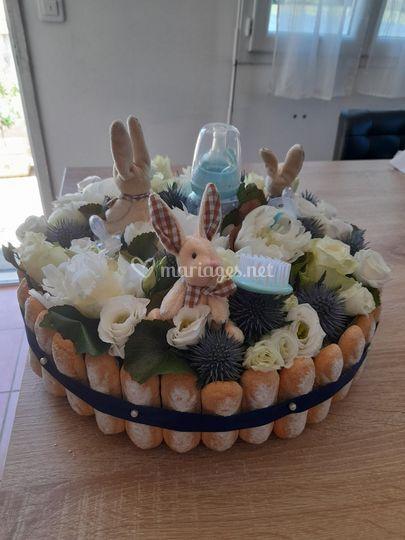 Gâteau pour candy bar