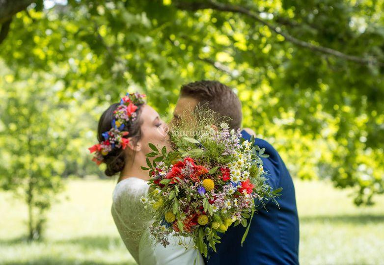 Photographie des mariés