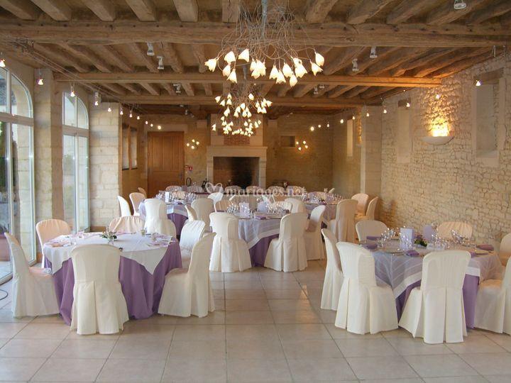 Mariage, salle principale