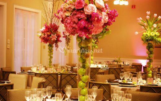 Détails floraux