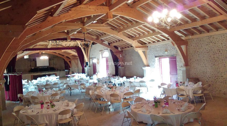 Mariage chateau montus