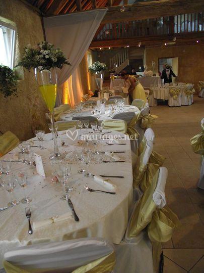 Décoration salle de mariage