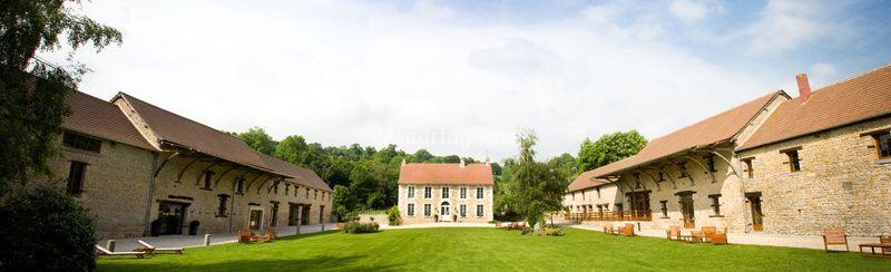 panoramique intrieur sur domaine de la pommeraye - Domaine De La Pommeraye Mariage