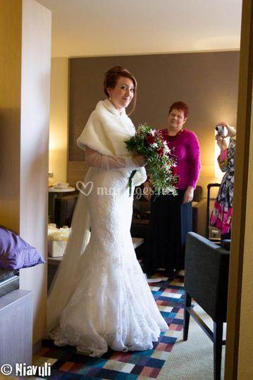Préparatifs mariées