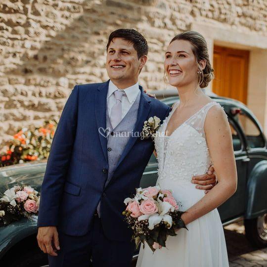 Mariage CharlotteFrizura