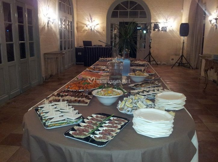 Buffet d'amuse bouches