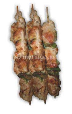 Borchettes dinde poulet