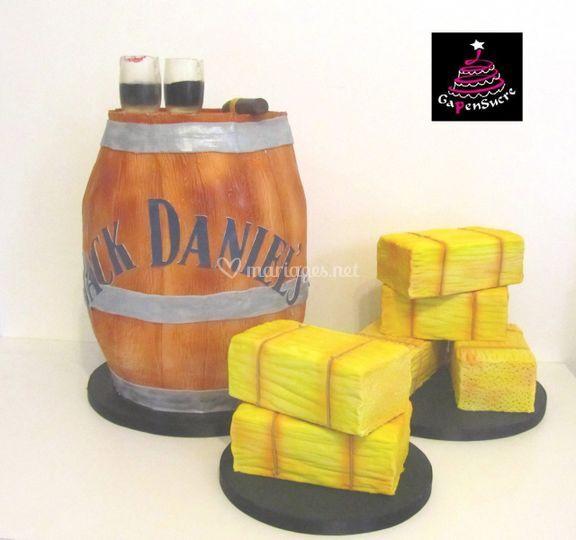 Gâteau sculpté - ~90p