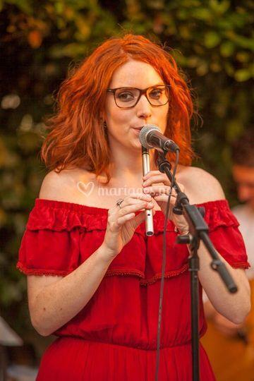 Lola à la flûte