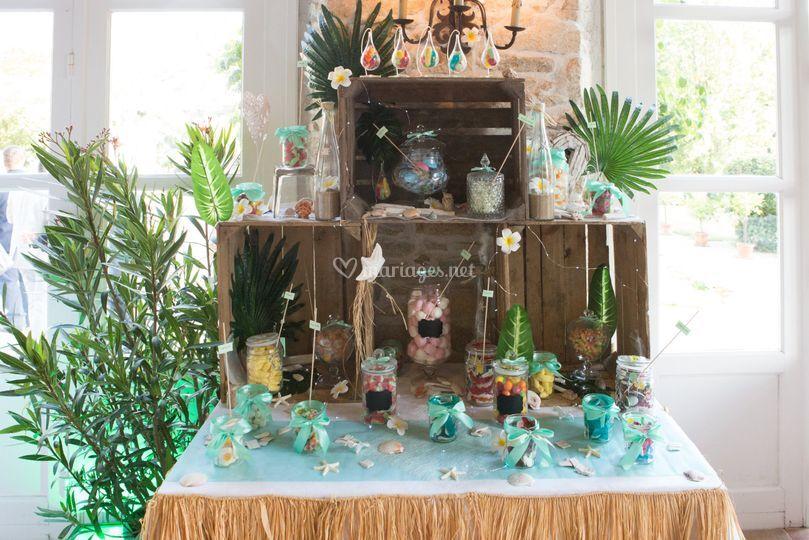 Candy Bar Mariage Morbihan