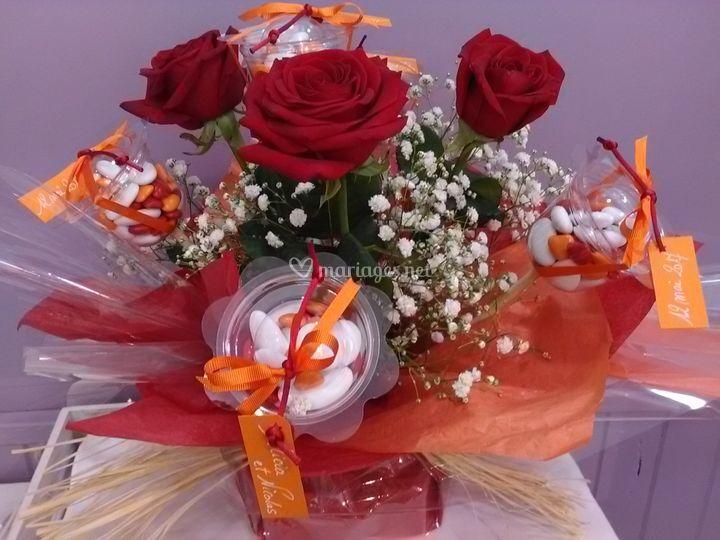 Bouquet rouge passion