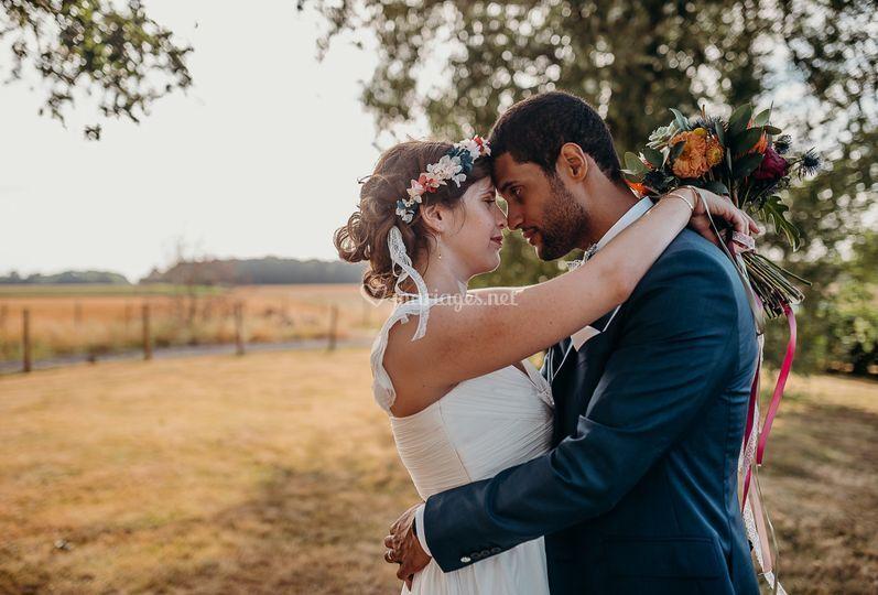 Mariage coloré au Nomade Lodge
