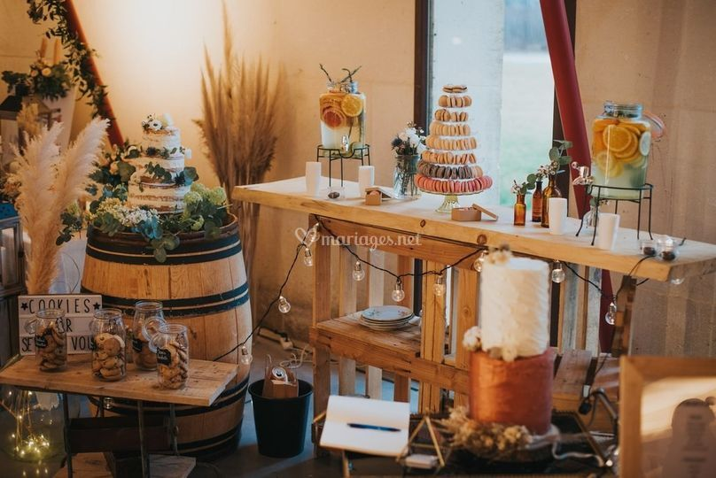 Wedding cake et gourmandises