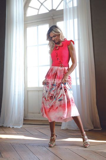 Linea Raffaelli S21 Set 190 - Dress 211-113-01