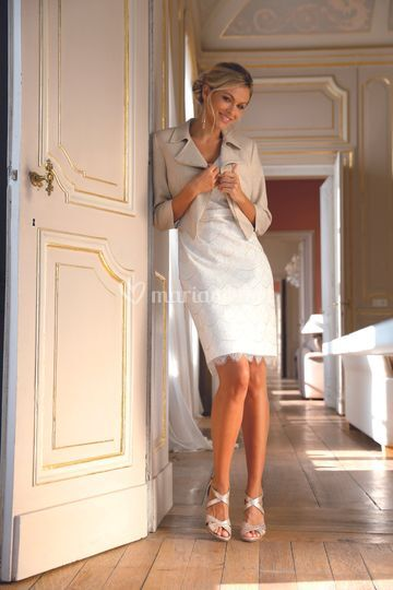Linea Raffaelli S21 Set 260 - Jacket 201-103-01 - Dress 211-199-01