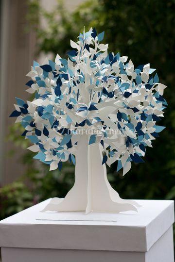 Urne cadeaux arbre